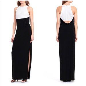 NWOT Ralph Lauren white and black dress